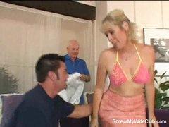 Horny Swinger Wife Is Screwed!