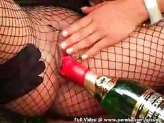 Elegant Eurobabes Dyke Out Then Get Fucked and Drink Boyfriends Piss