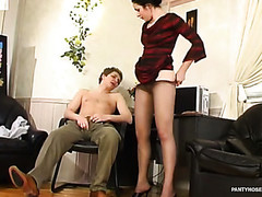 Rosa&Gilbert kinky hose job movie