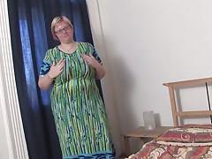 large mommy wiske loves her own massive milkers