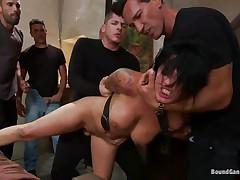 5 dicks and a girl