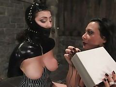 romanian mistress punishes her sex slave