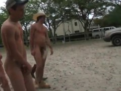 Good farm boys are having fun running around and having great sex