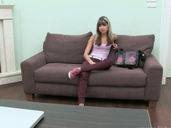 Coarse doggy style hammering for gorgeous sex kitten Liza