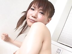 Pal licks, fingers and bonks unshaved vagina of girlie from Asia