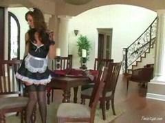 Tiffany is a horny maid 1