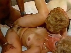 Old ladies slammed by his big darksome cock